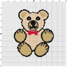 Teddy Counted Cross Stitch Kit